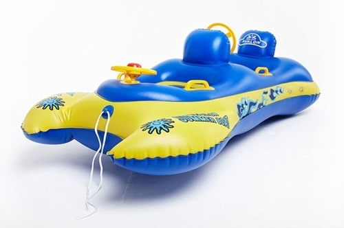 New Toddler Baby Sunshade Inflatable Float Seat Boat 2